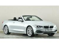 2014 BMW 4 Series 420d Luxury 2dr Auto Sports diesel Automatic