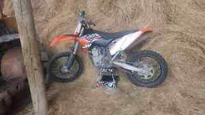 2010 KTM 450 SX-F Extremely Low Hours