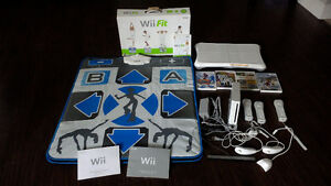 Big Bargain - Wii console, controllers, balance board and games