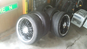"17"" Aftermarket 4 boltuniversal Rims"