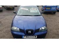 2003 Seat Ibiza 1.9 TDI Sport 3dr
