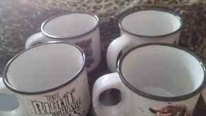 Four (4) Larry the Cable Guy Large Coffee Mugs (see other pics)
