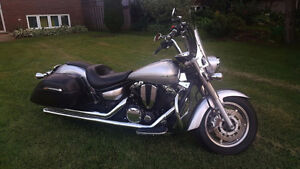 Yamaha Vstar 1300 Tourer excellent condition with extras!