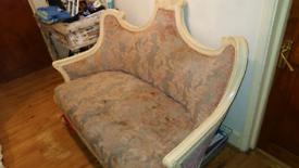 Antique Chaise Lounge Sofa
