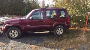 2003 Jeep Liberty PARTS