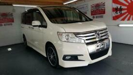 image for Honda stepwagon spada 2.0 automatic white 8 seater japanese import 2009
