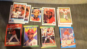 Ozzie Smith MLB cards(12)