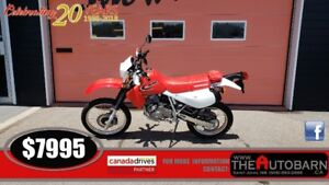 2017 HONDA XR 650L DIRTBIKE - ONLY 1583KM