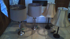 PAIR OF LAMPS $25 WOW