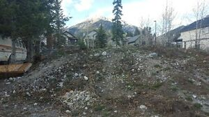 Free fill from lot on Riverstone Road in Canmore, Easy access.