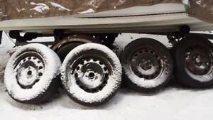 """16"""" Snow tire RIMS ONLY for sale..."""