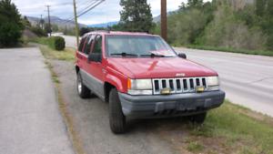 93' Grand Cherokee loredo