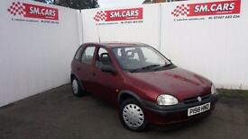 1996 P VAUXHALL CORSA 1.2 16V LS 5 DOOR.SAME WOMAN OWNER SINCE 2010.FULL MOT .
