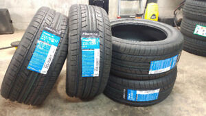 New 225/50R17 summer tires, $420 for 4