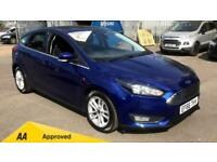 2016 Ford Focus 1.0 EcoBoost 125 Zetec 5dr Manual Petrol Hatchback