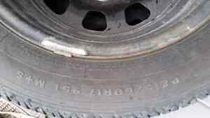 Dodge caliber snow tires and rims  Kitchener / Waterloo Kitchener Area image 1