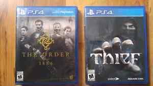 Jeux PS4 complets à vendre en excellent état