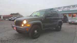JEEP LIBERTY 4X4 *** CERTIFIED *** $4995 *** 100% APPROVED