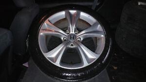 "2012 Honda Accord 18"" alloys and Michelin all seasons"