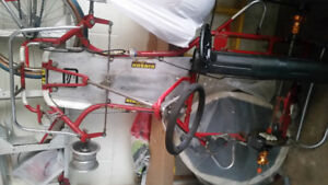 Go kart frame and parts