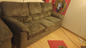 Couch, love seat chair and more