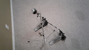 Sale/Trade Drum Dbl Base Pedal and Cymbal Stand