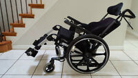 IBIS Tilt-in-Space Wheelchair with ROHO Cushion