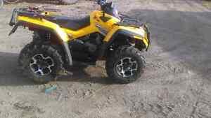 2008 outlander 650