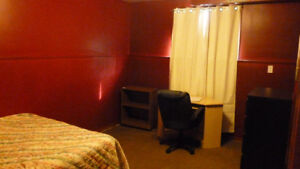 TWO FURNISHED ROOMS FOR SHORT TERM RENTAL JULY1-AUG.31