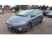 2006 Honda Civic VTEC2 Owners Leather Seats Long MOT Gearbox fault