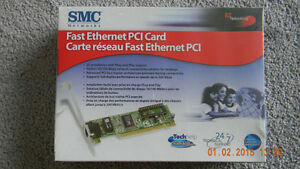 SMC Ethernet PCI Card - New In Box Edmonton Edmonton Area image 1