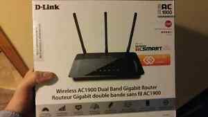 Brand new in box Dual band Gigabyte router Kitchener / Waterloo Kitchener Area image 1