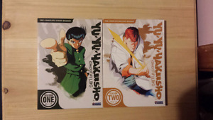 Yu Yu Hakusho Anime Seasons 1 & 2 DVD Sets