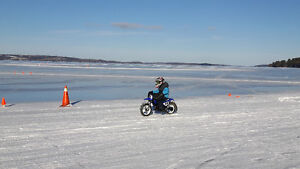 Ice Racing Tires and Guards needed for KTM 50 and or CRF50