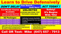 """""""...PROFESSIONAL DRIVING INSTRUCTOR+""""EARLY ROAD TEST BOOKING"""".."""