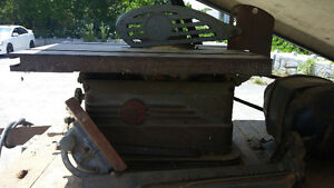 "1940S Power King 7"" table saw"