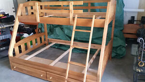 Maple Bunk Bed For Sale