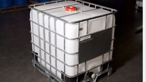 FACTORY LOCKED SEALED ibc tote water tank for camp cabin READ IT