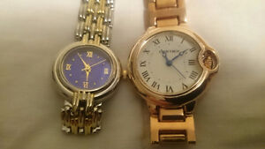 women's CARTIER style WATCHES *$100each or both for $180* LOOK!