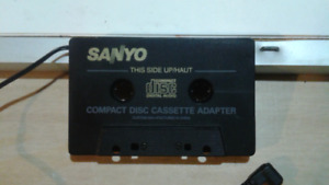 Cassette Player Adapter by Sanyo