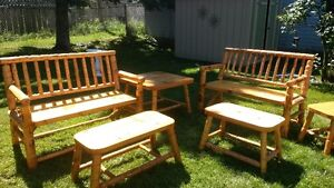 Hand Tooled White Pine Furniture (or best offer) Reduced again