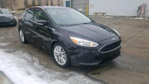 Certified 2015 ford focus TITANIUM/ FULLY LOADED/ SUNROOF