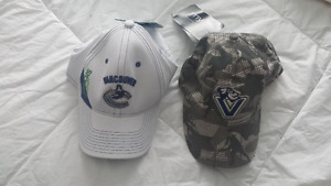 Vancouver Canucks hats/caps