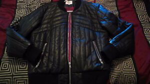 Leather jackets , jerseys, black swede womens boots