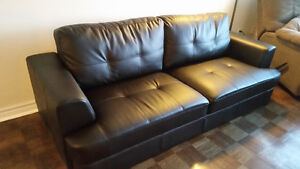 Moving sale: couch, recliner, lamps, bookshelves, dining table