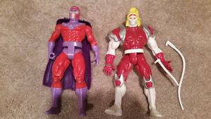 X-Men Magneto Omega Red figures