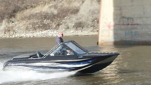2013 Risley demo 15' River Boat