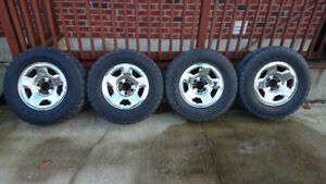 2005-2008 Ford f150 rims and tires
