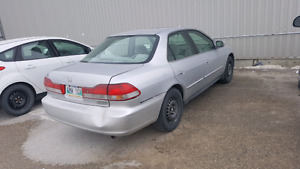 2002 Honda Accord SE - AS IS