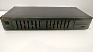 Vintage Technics Graphic Equalizer Model SH-8017